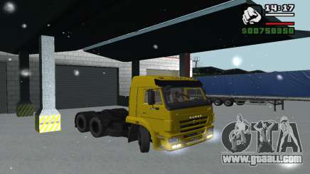 KAMAZ 65116 for GTA San Andreas