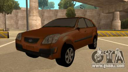 KIA RIO II 5 DOOR for GTA San Andreas