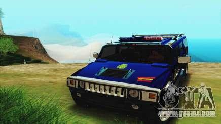 Hummer H2 G.E.O.S. for GTA San Andreas
