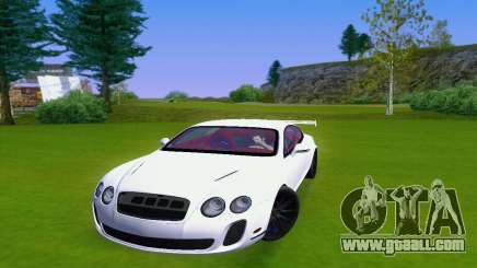 Bentley Continental Extremesports for GTA San Andreas