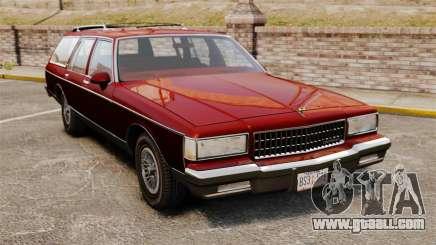 Chevrolet Caprice Wagon 1989 for GTA 4