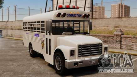 The prison bus Liberty City for GTA 4