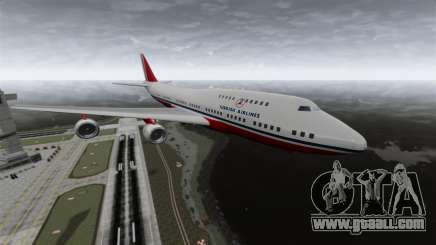 The Turkish Airlines aircraft for GTA 4