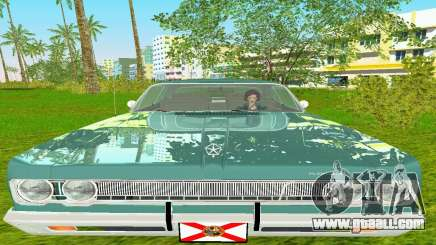 Plymouth Fury III 1969 Coupe for GTA Vice City