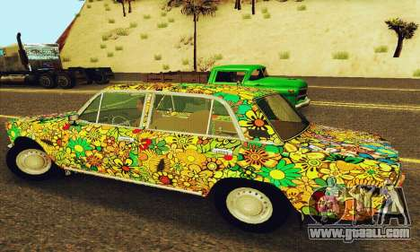 VAZ 21011 Hippie for GTA San Andreas back view