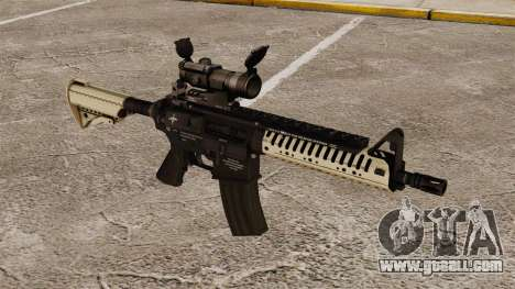 Automatic carbine M4 VLTOR v4 for GTA 4