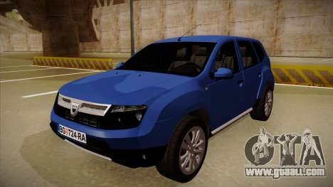 Dacia Duster SUV 4x4 for GTA San Andreas
