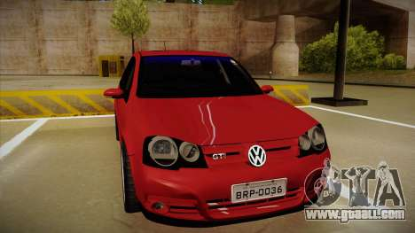 VW Golf GTI 2008 for GTA San Andreas left view