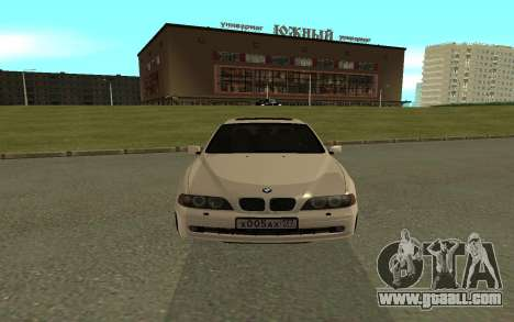 BMW 540i for GTA San Andreas right view