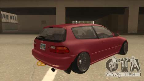 Honda Civic EG6 Camber for GTA San Andreas right view