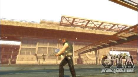 PKP Pecheneg Machine Gun for GTA 4 third screenshot