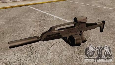 HK XM8 assault rifle v2 for GTA 4 third screenshot