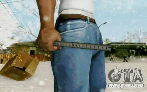 Steel rule for GTA San Andreas