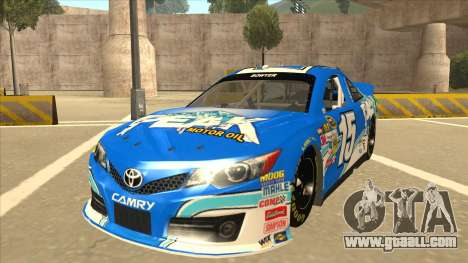 Toyota Camry NASCAR No. 15 Peak for GTA San Andreas