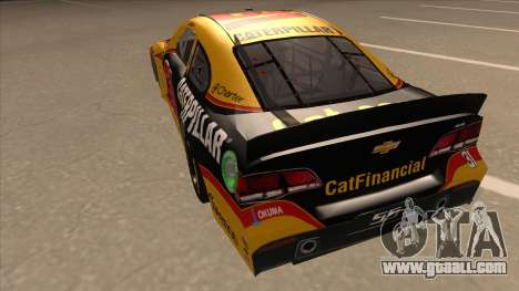 Chevrolet SS NASCAR No. 31 Caterpillar for GTA San Andreas back view