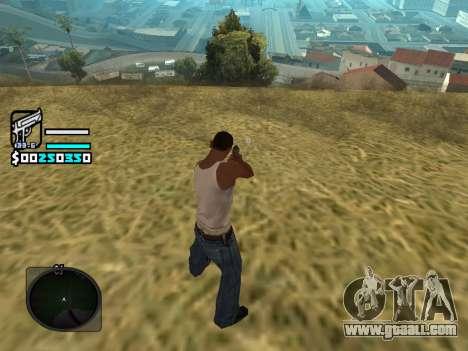 Hud by Larry for GTA San Andreas third screenshot