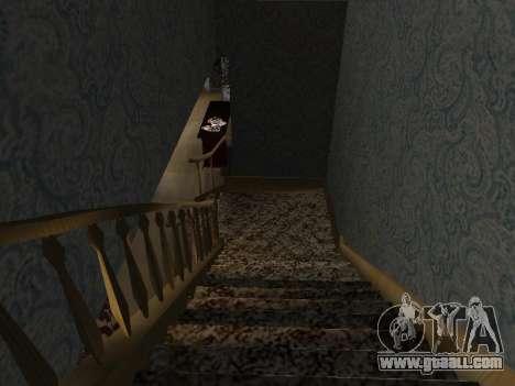 New interior 2-storeyed building CJ for GTA San Andreas ninth screenshot