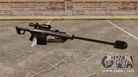 The Barrett M82 sniper rifle v1 for GTA 4