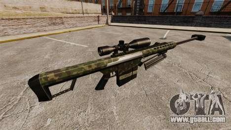 The Barrett M82 sniper rifle v7 for GTA 4 second screenshot
