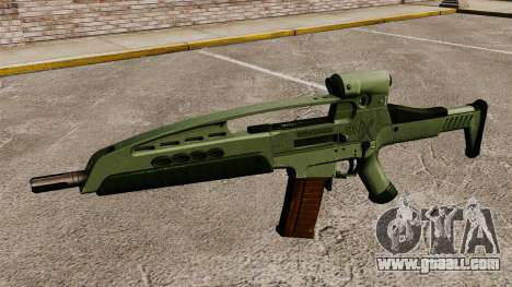 HK XM8 assault rifle v1 for GTA 4 third screenshot