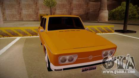 VW Variant 1972 for GTA San Andreas left view
