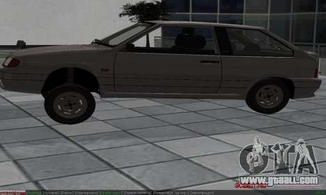 VAZ 2113 for GTA San Andreas upper view
