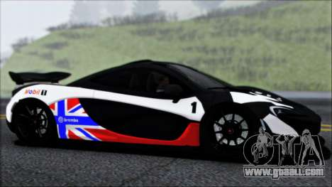 McLaren P1 2014 for GTA San Andreas engine