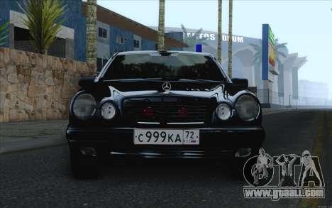 Mercedes-Benz E420 for GTA San Andreas back left view