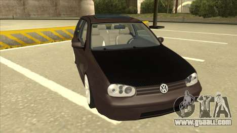 VW Golf 4 Tuned for GTA San Andreas left view