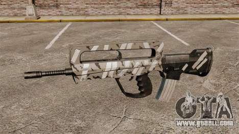 Automatic FAMAS (winter) for GTA 4 third screenshot