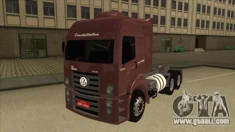 Volkswagen Constellation 25.370 Tractor for GTA San Andreas