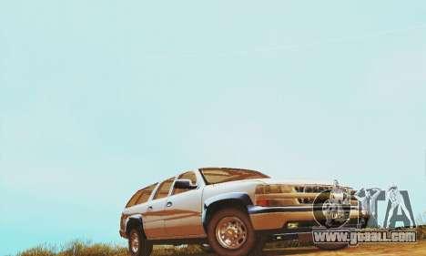 Chevrolet Suburban SAPD FBI for GTA San Andreas left view