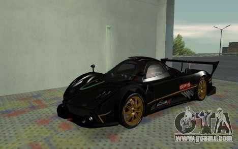 Pagani Zonda R SPS for GTA San Andreas