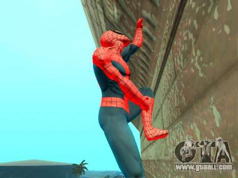 Climb walls like Spider-man for GTA San Andreas