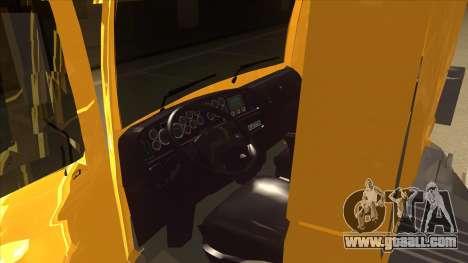 Volkswagen Constellation 13.180 for GTA San Andreas inner view
