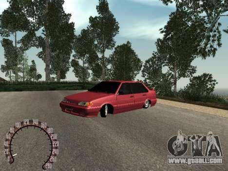 VAZ 2115 BPAN for GTA San Andreas