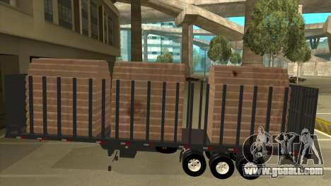 Semi-trailer for Mercedes-Benz LS 2638 for GTA San Andreas