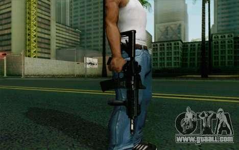 MK107 PDW for GTA San Andreas third screenshot