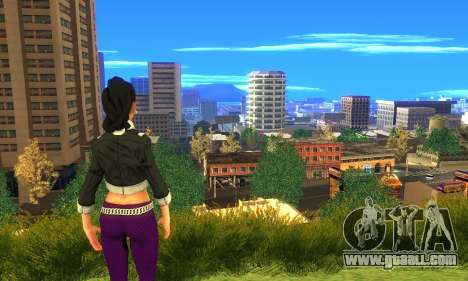 Shaundi From Saints Row Third for GTA San Andreas forth screenshot