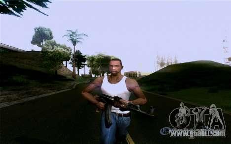AK-47 for GTA San Andreas eighth screenshot