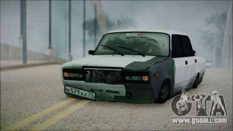 VAZ 2107 Hobo for GTA San Andreas