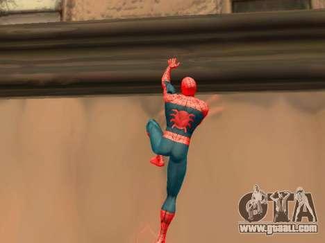 Climb walls like Spider-man for GTA San Andreas second screenshot
