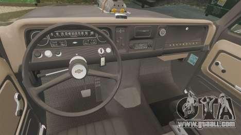 Chevrolet C-10 Stepside v3 for GTA 4 side view