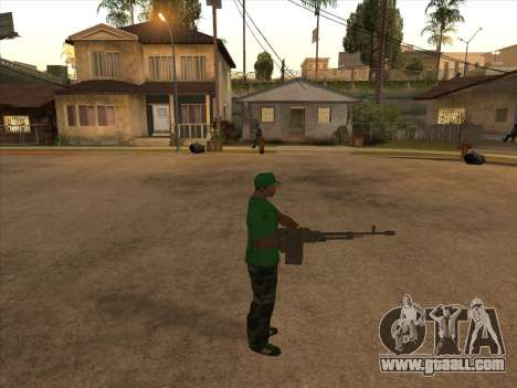 KORD for GTA San Andreas