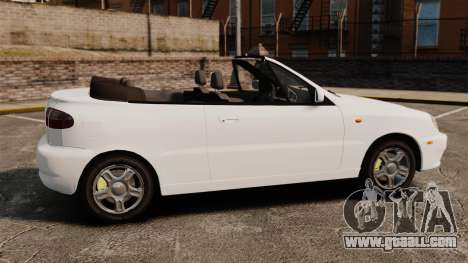 Daewoo Lanos 1997 Cabriolet Concept for GTA 4 left view