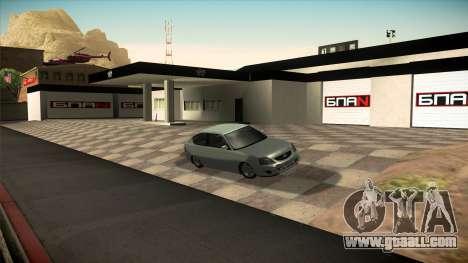 The garage in Doherty BPAN v1.1 for GTA San Andreas fifth screenshot