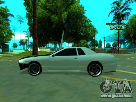 Drift Elegy by zhenya2003 for GTA San Andreas back left view