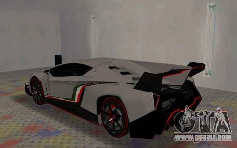 Lamborghini Veneno Advance Edition for GTA San Andreas right view