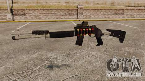 Shotgun M1014 v4 for GTA 4 third screenshot