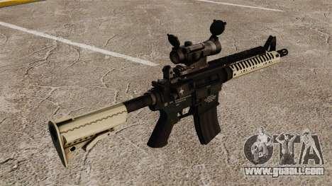 Automatic carbine M4 VLTOR v4 for GTA 4 second screenshot